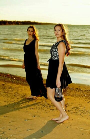 The Loop in Kincardine, ON. Pretty black dresses for any season.  xo
