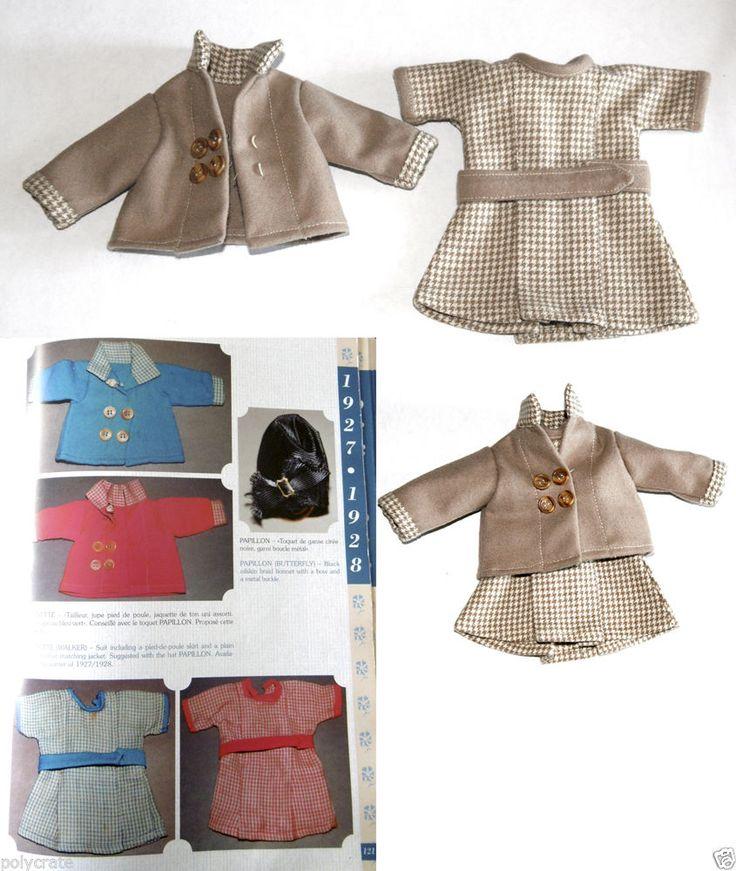 Ensemble Trottinette robe vêtements Poupée ancienne Bleuette 27cm 1927 28 | eBay