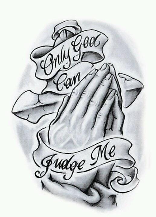 only god can judge me tattoos jesus tattoo tupac tattoo