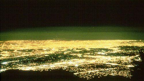 Una immagine che testimonia l'inquinamento luminoso