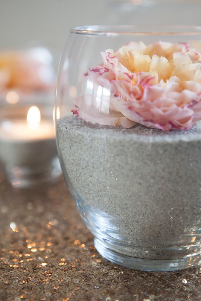Best ideas about sand centerpieces on pinterest