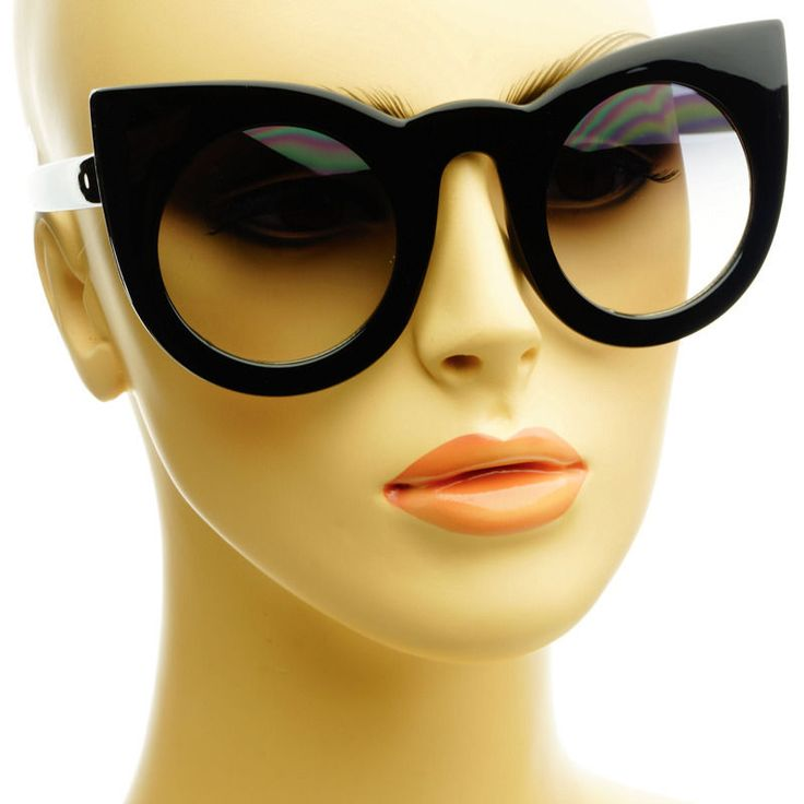 X Cat Eye Sunglasses