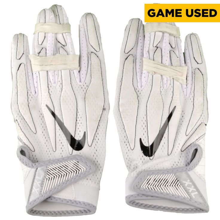 Marcus Smith Philadelphia Eagles Fanatics Authentic Game-Used White Nike Pair of Gloves vs. Dallas Cowboys on January 1, 2017 - $149.99