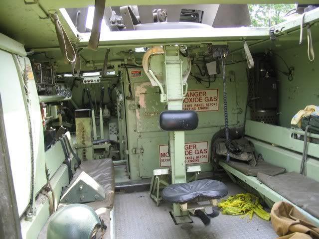 Image result for Bradley Fighting Vehicle Interior