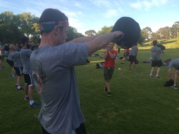 Long term senior recruit Matt Laws on the sandball swing!