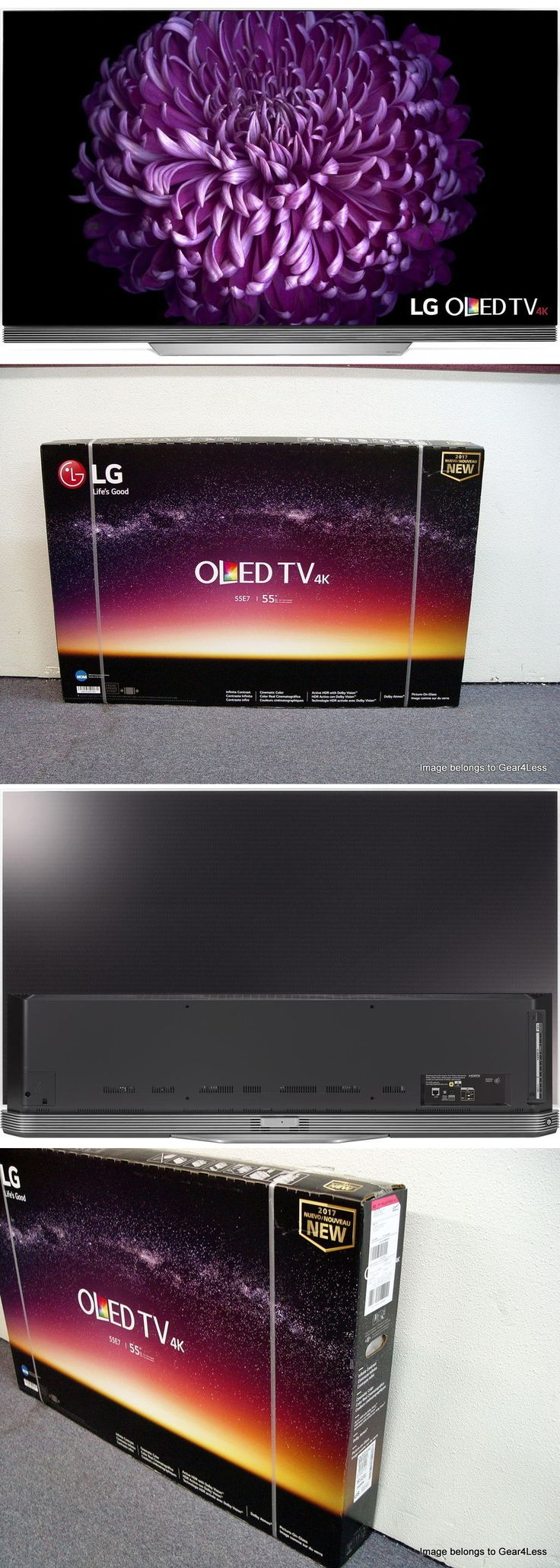 Televisions: Lg Oled55e7p 55 Smart Oled 4K Ultra Hd Tv Hdr 2017 Flat Screen Panel New Hdtv -> BUY IT NOW ONLY: $2223.95 on eBay!