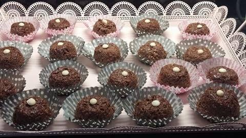 Σοκολατάκια με κανταίφι