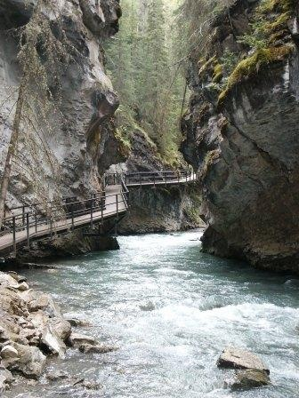 Johnston Canyon, Alberta Can't wait for summer!