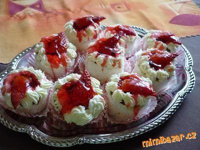 Jahodové dortíčky