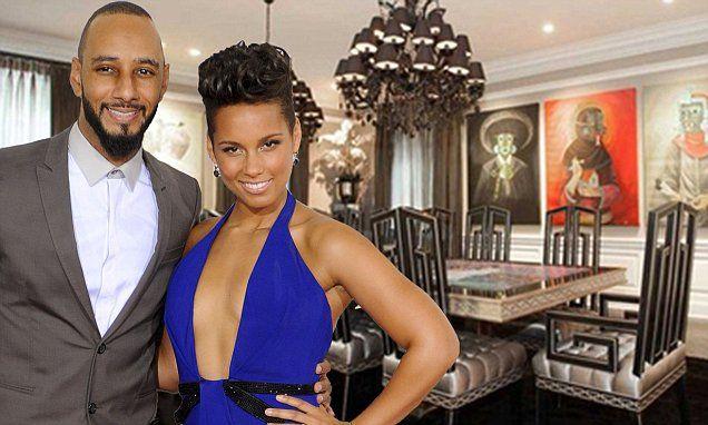 Alicia Keys and Swizz Beatz 'list their $14.9 million mansion'