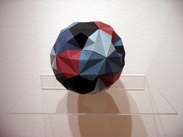 Origami Galerie: 30 Degree Ball (Dave Brill)   Happy Folding