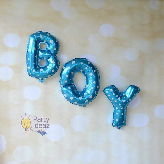 These 16 Blue Foil letter balloons are the perfect decoration for Baby Showers, Boys 1st First Birthday Party, Welcome Home Baby, Christenings and much more. They are available to purchase as a set or just the word BABY or BOY. No Helium is required as they will not float. Another great thing about our Baby Boy balloons is that they are also reusable so you can use them as Baby Shower Decorations and then again at the growing boys 1st First Birthday Party :)  Inflation couldnt be easier…