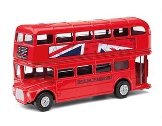 コーギー英国ベストブリティッシュルートマスターバス2階建バス