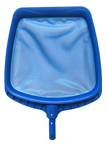 Felices Pascuas Collection 14 inch Heavy-Duty Blue Plastic Swimming Pool Leaf Skimmer Head