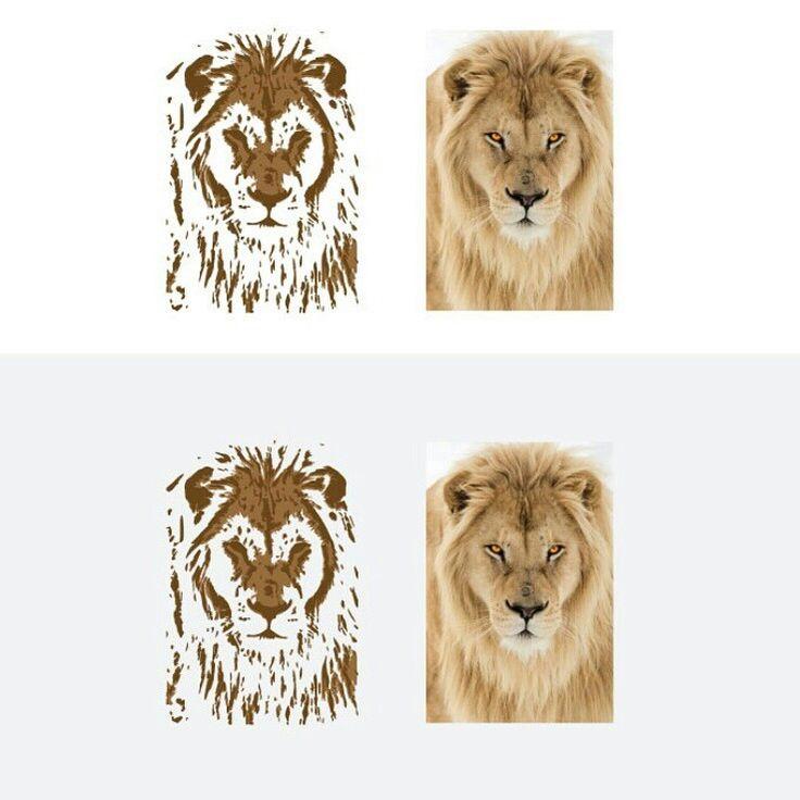 Image To Vector Lion Illustrator Design . https://www.behance.net/gallery/52358207/Image-To-Vector-Lion-Illustrator-Design