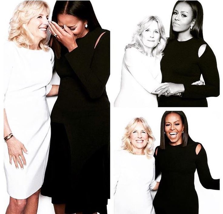 first lady michelle obama with second lady dr. jill biden