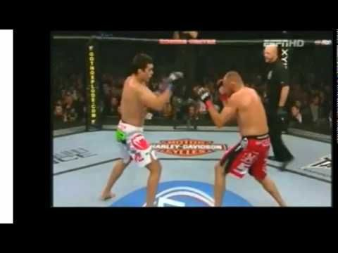 Lyoto Machida's pop up front  Kick
