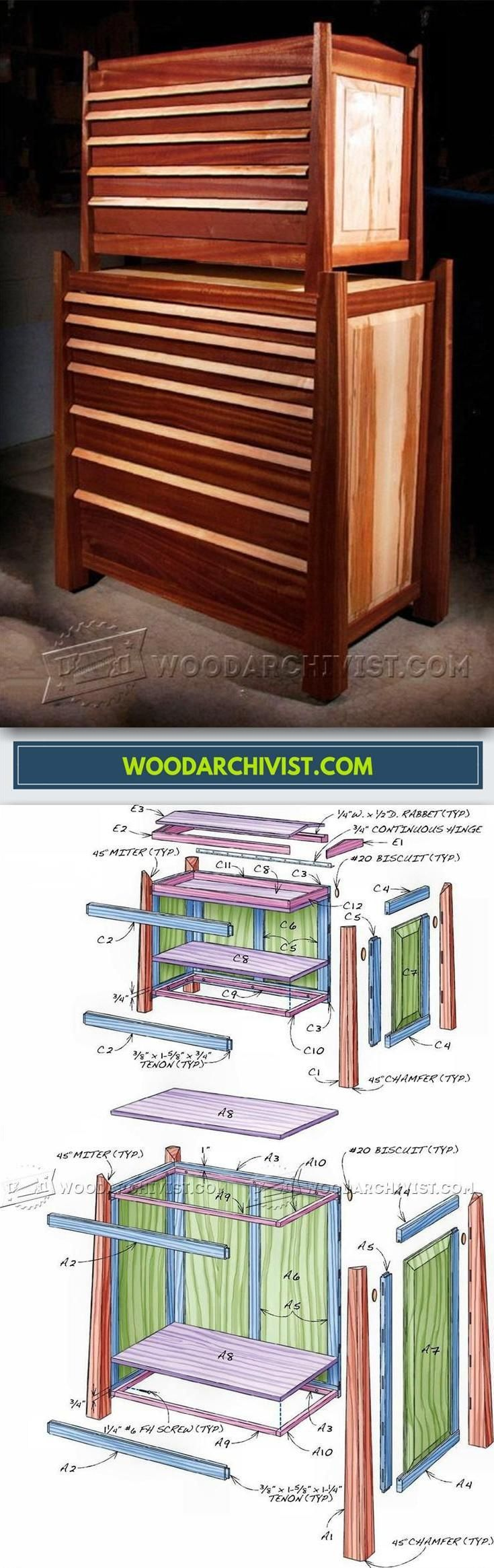 Tool Storage Cabinet Plans - Workshop Solutions Plans, Tips and Tricks | WoodArchivist.com