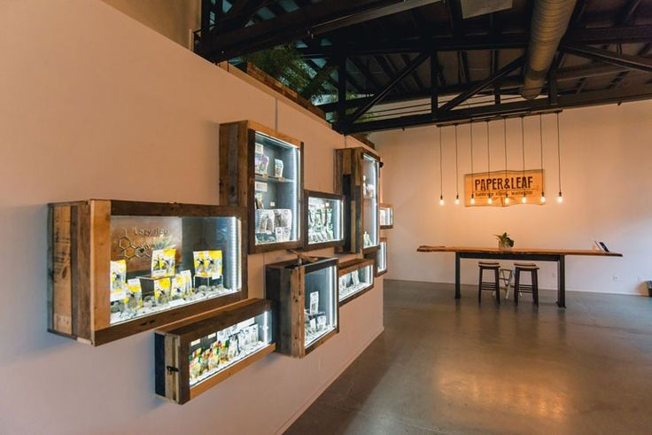 These 10 marijuana dispensaries break stereotypes with high design - Curbedclockmenumore-arrow : The dark and gloomy weed store gets a makeover