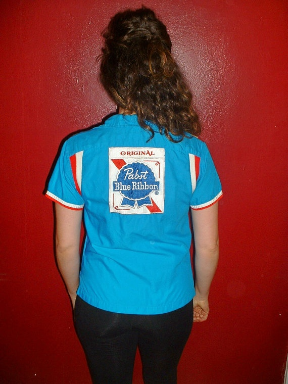 NearMint Condition Wmns 1950's Bowling Shirt w Big by commonwealth, $62.00: Nearmint Condition, Condition Wmns, 1950 S Bowling, Jessica Loves, 1950 S Pabst, Bowling Stuff, 10 Pin