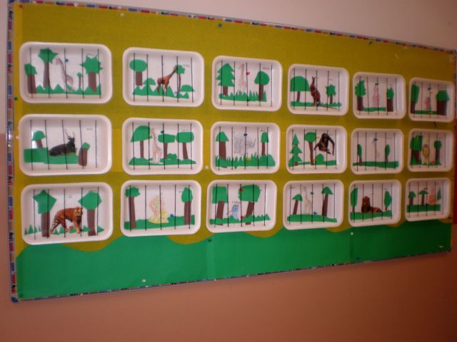 Classroom Zoo Ideas ~ Best ideas about zoo bulletin board on pinterest