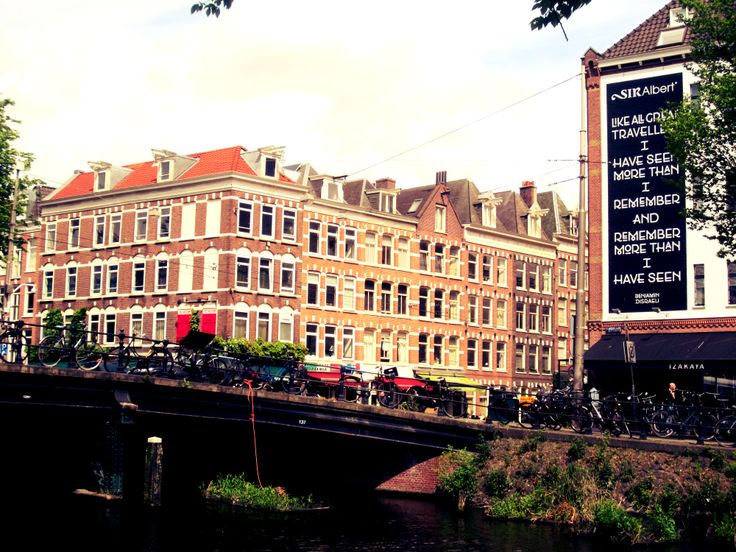 Amsterdam, travel quote, canal