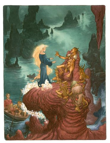 Amongst the Goblins - by Neil Gaiman and Charles Vess