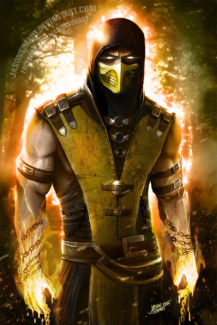 (*** http://BubbleCraze.org - You'll never put this Android/iPhone game down! ***)  Scorpion - Mortal Kombat
