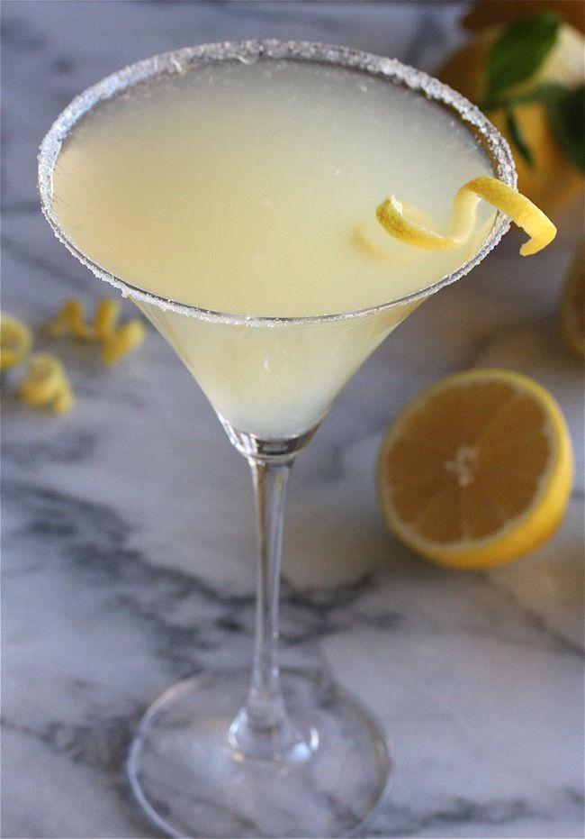The Perfect Lemon Drop Martini   Recipe   Lemon sorbet, Drinks and ...