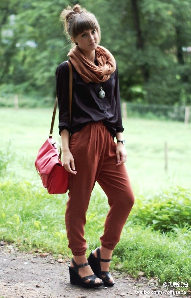 black + brown
