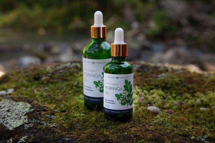 Organic Miracles moringa oil