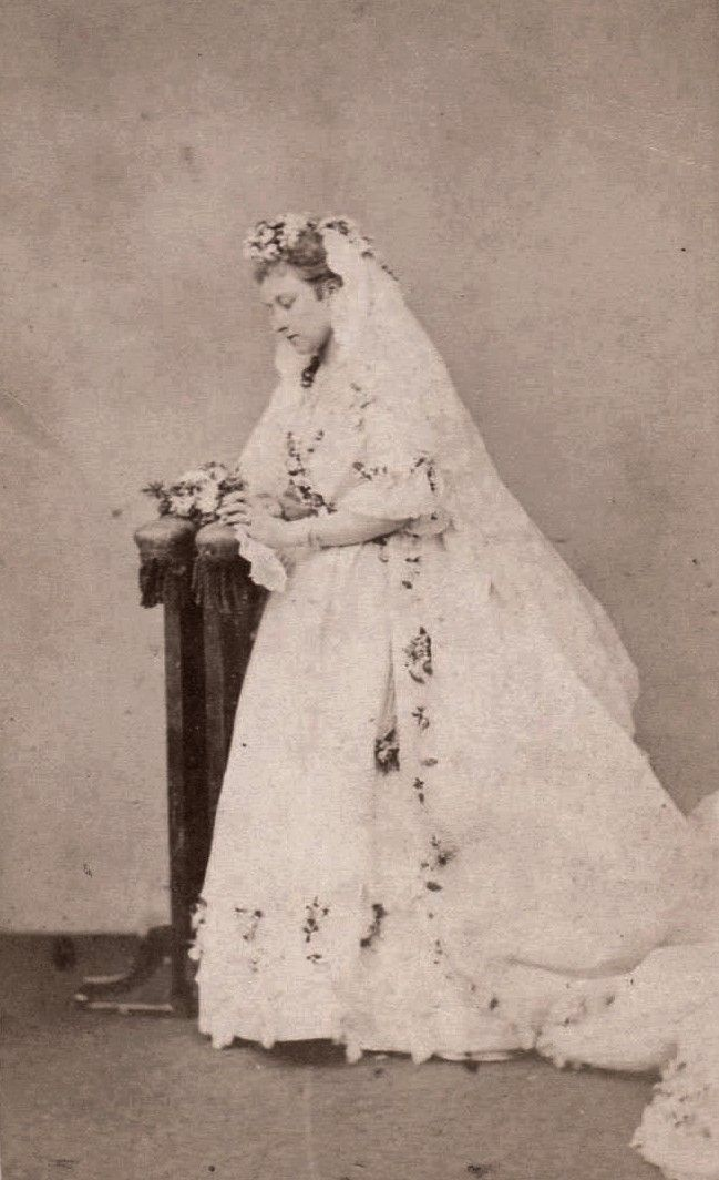 Princess Louise of Great Britain, in the day of her wedding with John Campbell, marquess of Lorne. 1871