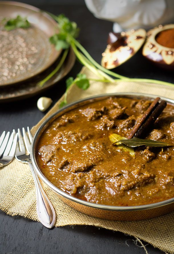 (wonder how this would be with chicken or any other protein other than lamb?) Rogan Josh (Lamb Curry)