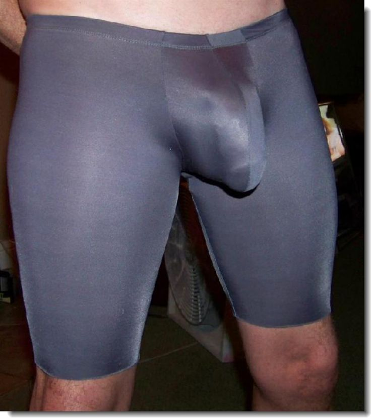 Spandex boner