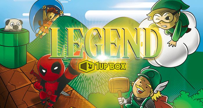 January 2016 1Up Box Spoilers: LEGEND + Coupon Code - http://hellosubscription.com/2015/12/january-2016-1up-box-spoilers-legend-coupon-code/ #1UpBox