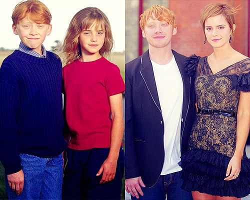 :): Nerd Alert, Harry Potter Then And Now, Things Potter, Emma Watson, Things Harry, Nerd Quirky, Harry Potter 3, Ron And Hermione, Always Ronandhermioneforev