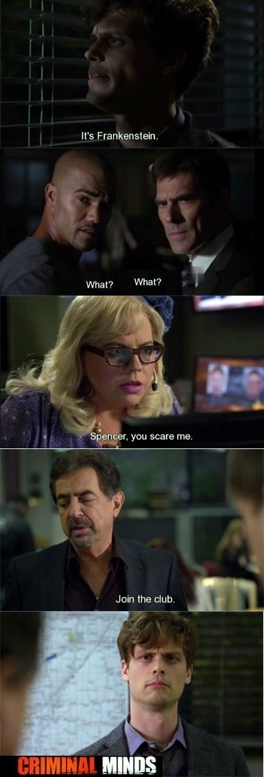 criminal minds by ilene