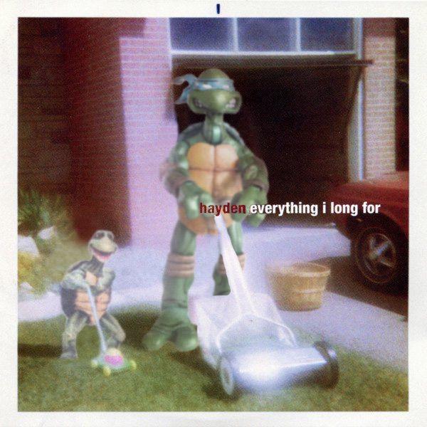 #hayden #everythingilongfor #everythingilongfor20th #eilf20 #sonicunyon #hamilton #hamont  #hardwoodrecords #canadianmusic #90s #toronto #canada #canadianrock #ninjaturtleparody #albumparody #necaturtles #necatmnt  #turtlepower #tmnt #ninjaturtles #haydendesser