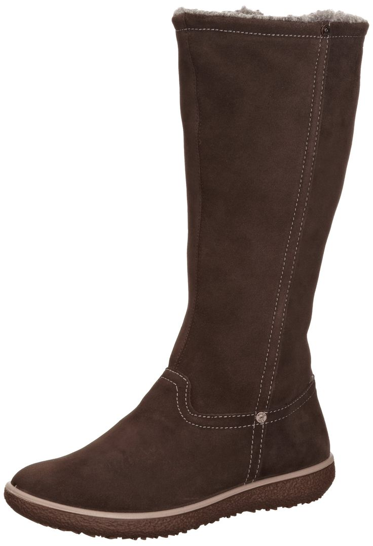 ECCO Women's Aude Tall Boots: Amazon.co.uk: Shoes & Bags