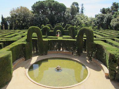 Fuente del Laberinto de Horta #laberinto #horta #barcelona