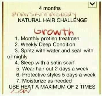 Natural hair no use of heat except for deep conditioning