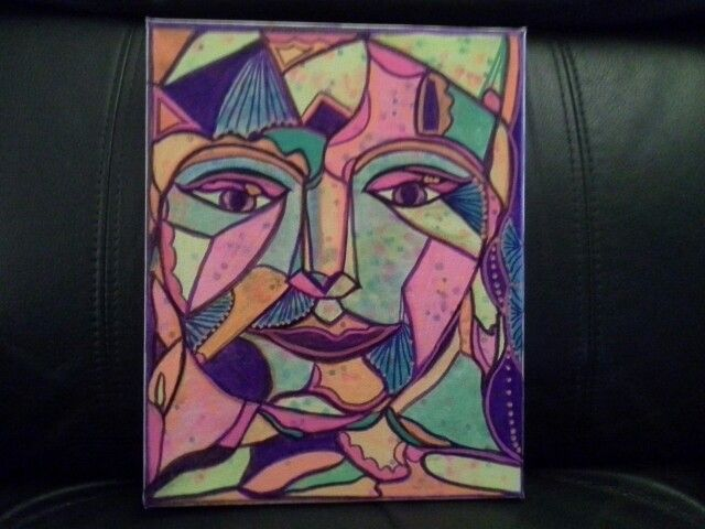 """"""" Face of many colours."""""""