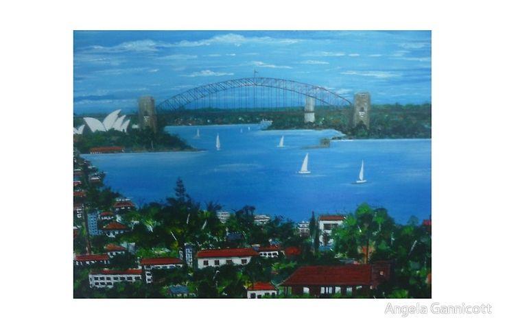 Sydney Harbour from Bondi NSW Australia
