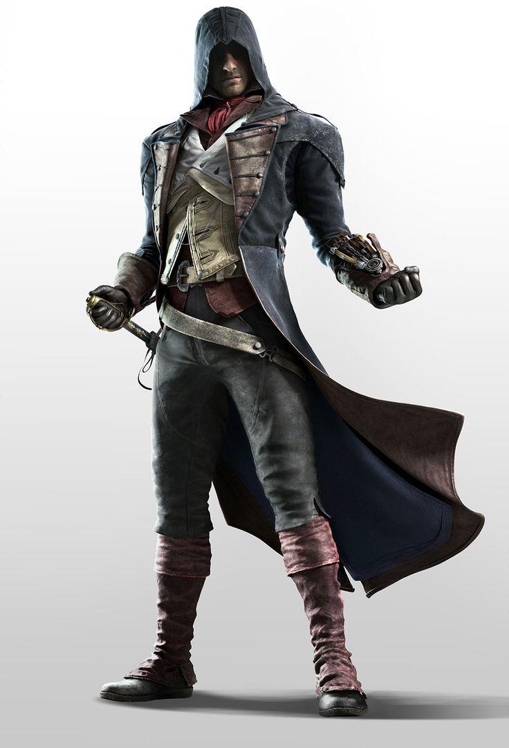 Assassin's Creed Unity - Arno Dorian                                                                                                                                                                                 Plus