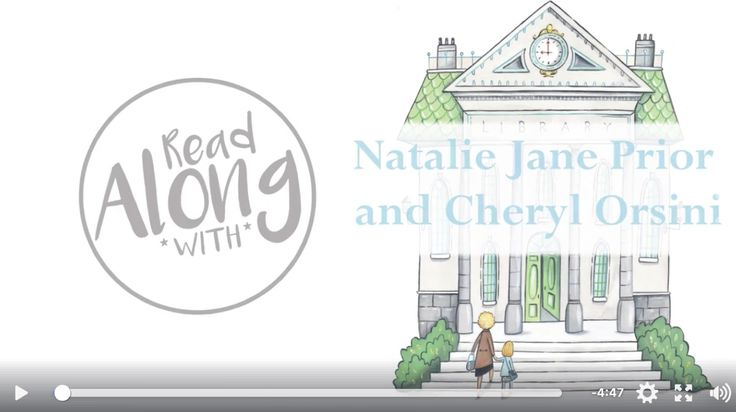 Watch me read Lucy's Book, while Cheryl Orsini shares her illustrations.