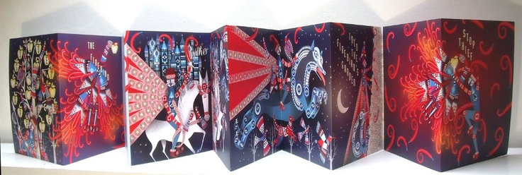 Firebird Concertina - Lesley Barnes Illustration