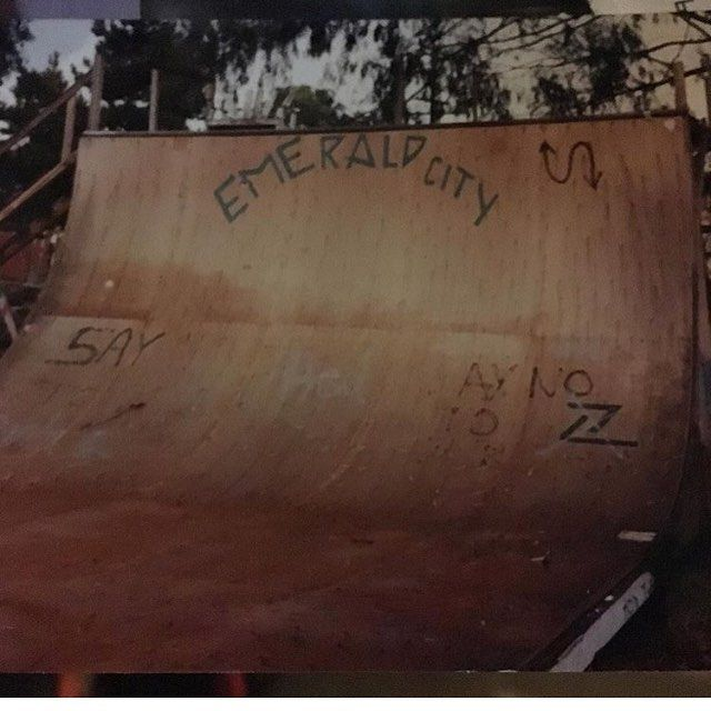 This was a #imperialbeach landmark from 1987-1990. A lot of great pros came through to ride this thing. It was located behind the palm theatre. #skate #skateboard #vert #backyardramp also known as Fred's ramp. #imperialbeachlocals #sandiegoconnection #sdlocals #iblocals - posted by Fred_Olande  https://www.instagram.com/fred_olande. See more post on Imperial Beach at http://imperialbeachlocals.com