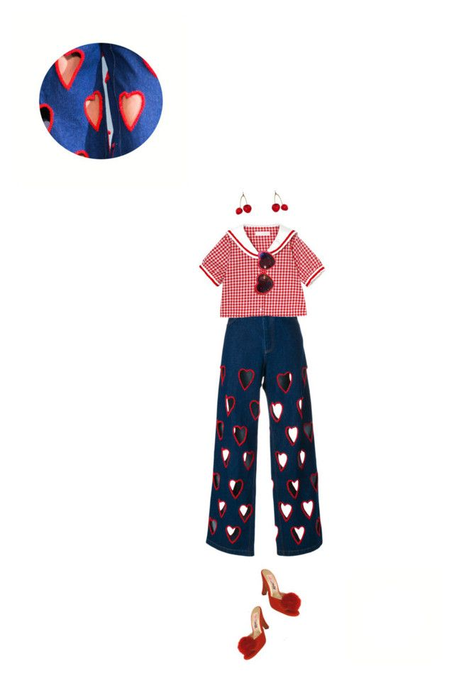 """""""#352"""" by k-ura ❤ liked on Polyvore featuring Ashish and Moschino"""