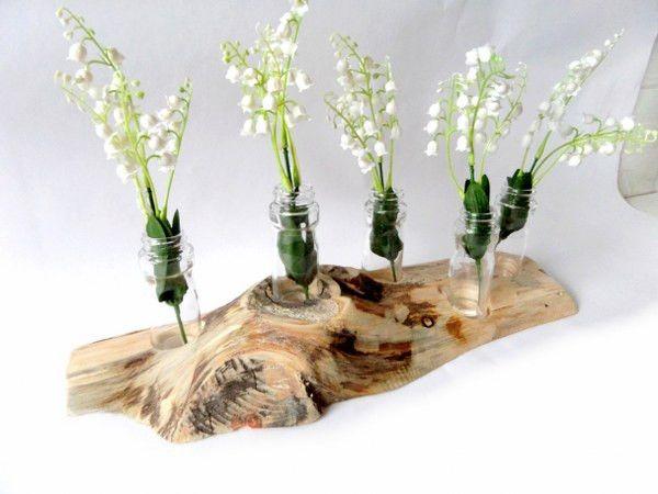 Wazon drewniany długi w artdesignstore na DaWanda.com