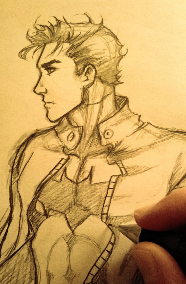 Just a quick sketch again… I'm lazy these days :( But I still love Jason Todd :3